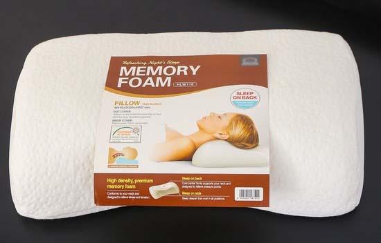 Gối mousse Memory Foam sẽ có độ dày đặc cao hơn khá nhiều so với các loại mousse thông thường khác.