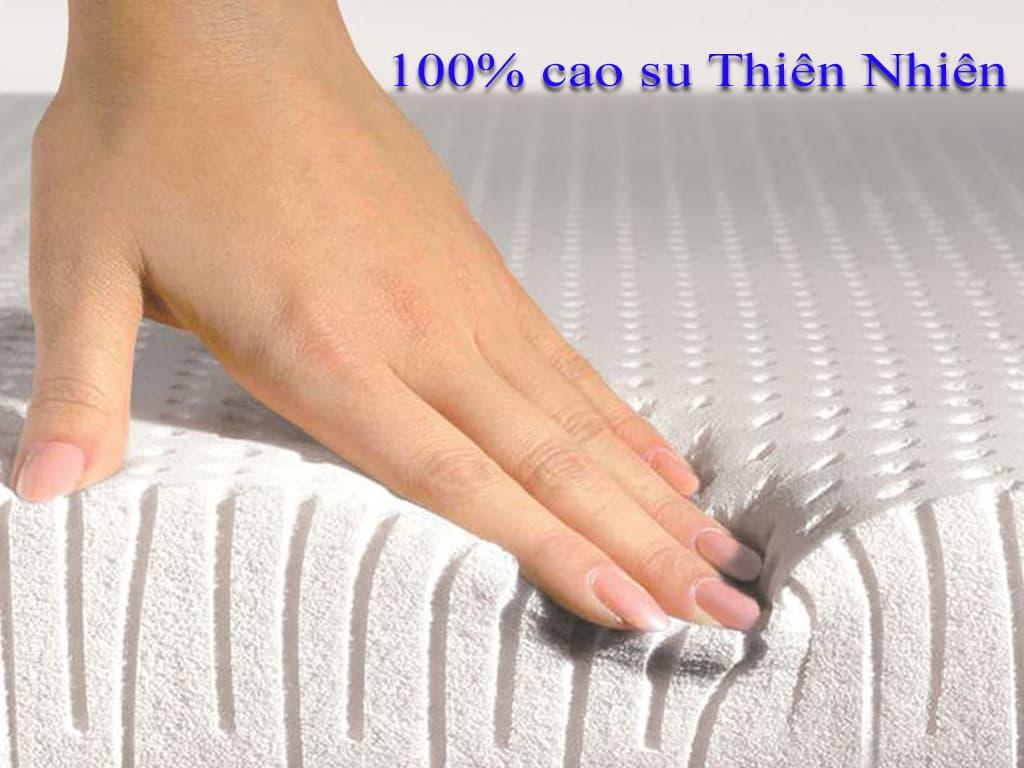 nệm cao su thiên nhiên 100%