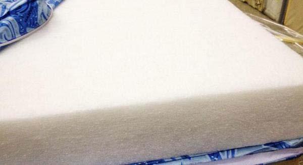 Cấu tạo nệm bông ép là từ polyester